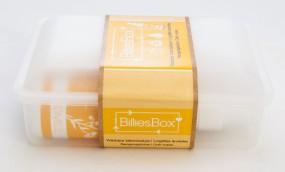 Billies BOX Reinigungstücher-Set weiss