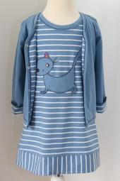 Enfant Terrible Shirtkleid mit Katzentasche