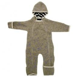 iobio Baby-Overall Wollvlies hellgrau